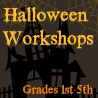 Halloween Workshops for Grades 1st-5th