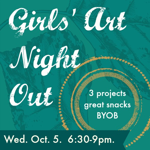 Girls' Art Night Out | Yucandu Art Studio