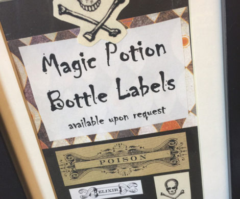 Magic Potion Label Sign