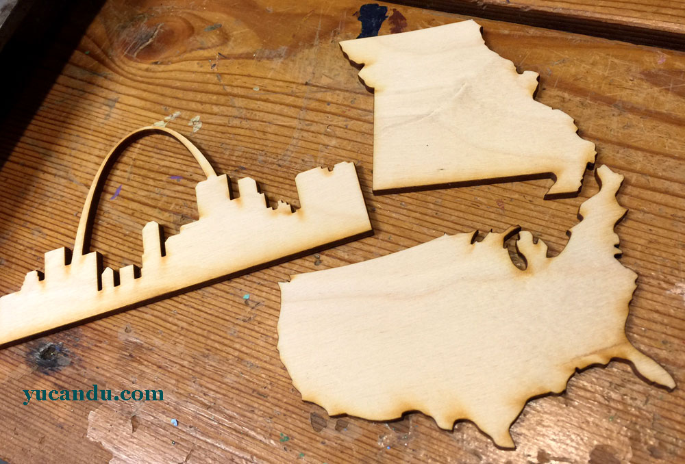 Wood Cut DIY Vacation Art