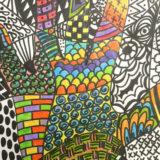 zentangle-hand-color