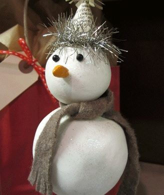 Shish-Ka-Bob Snowman Ornament
