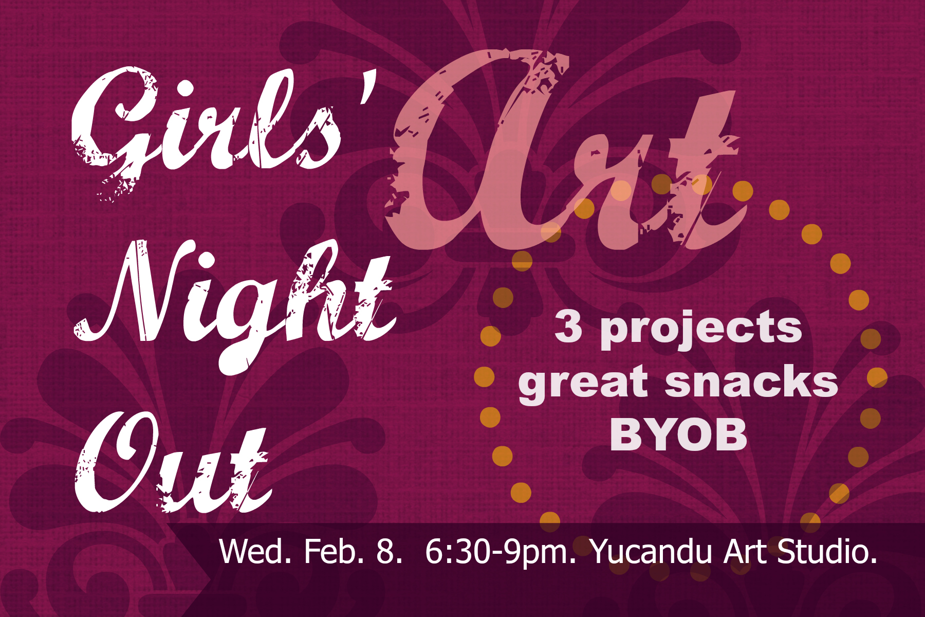 Girls' Art Night Out
