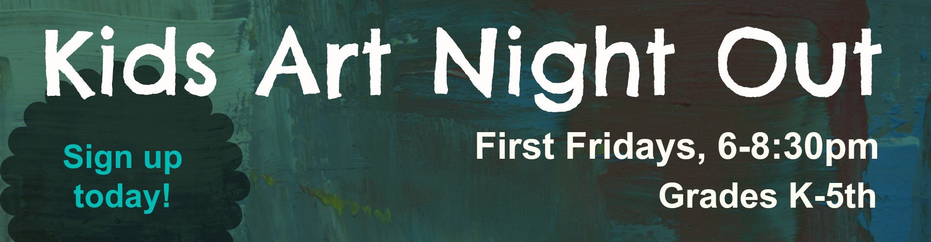 Kids Art Night Out - First Friday Art Workshops