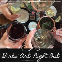 GIRLS ART NIGHT OUT
