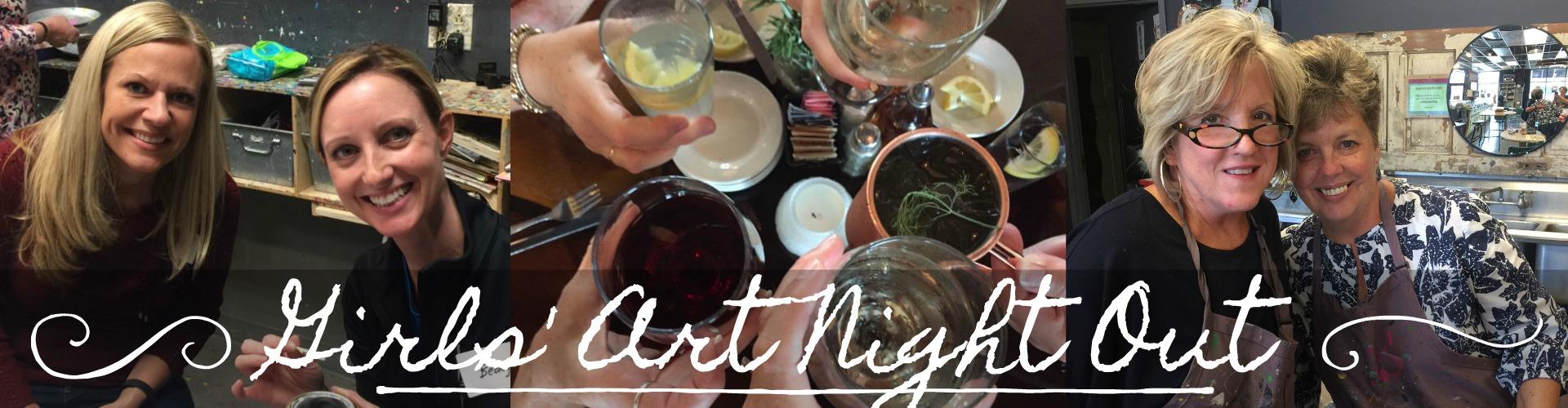 Girls' Art Night Out GANO