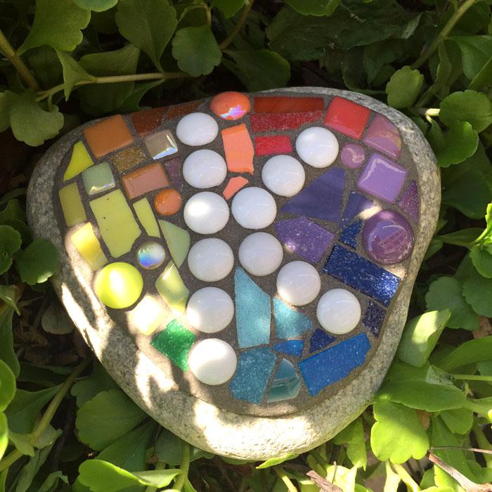 Mosaic River Stone