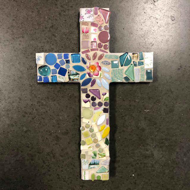 10″ Cross Mosaic