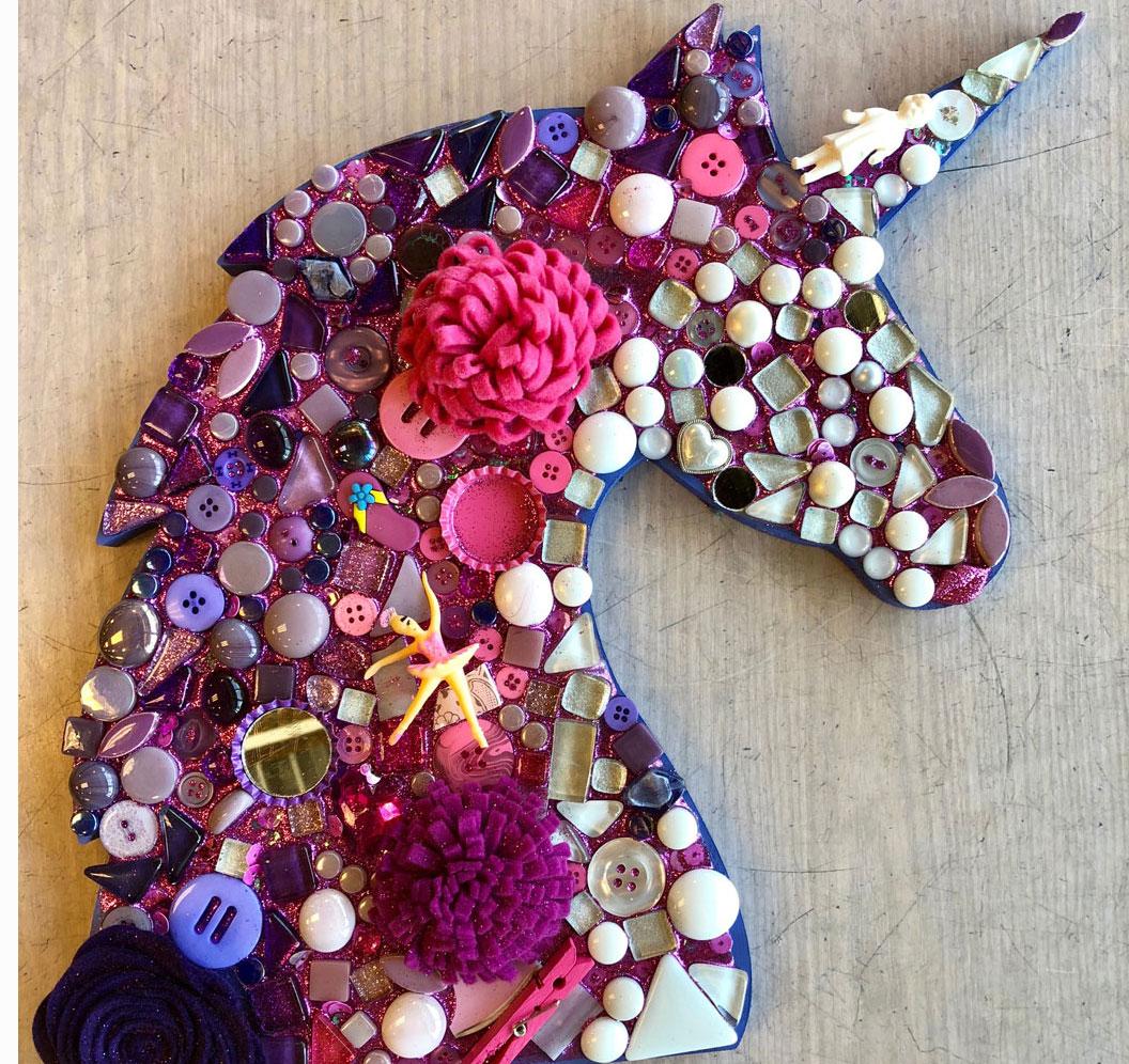 Mosaic Unicorn