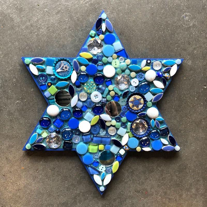 Star Of David Mosaic