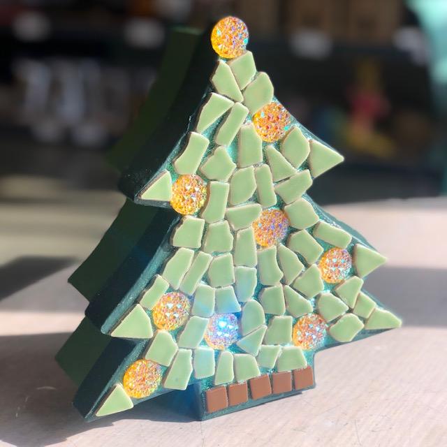 Mosaic Tree Box