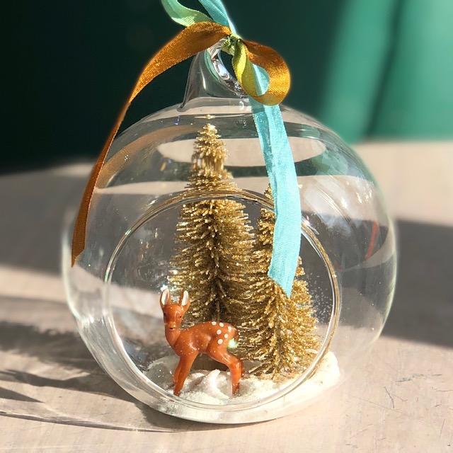 Glass Dome Ornament