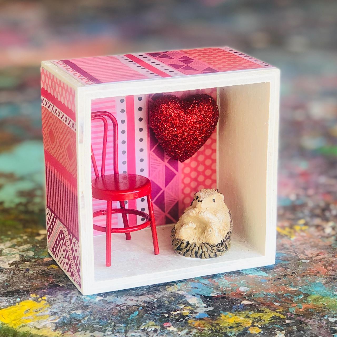 Valentine Shadowbox
