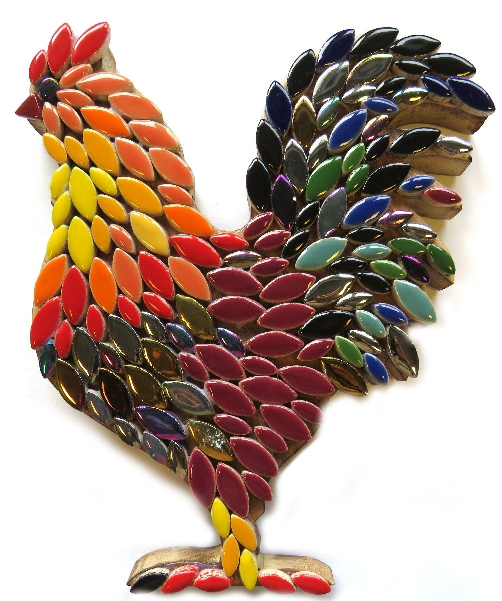 Mosaic Rooster